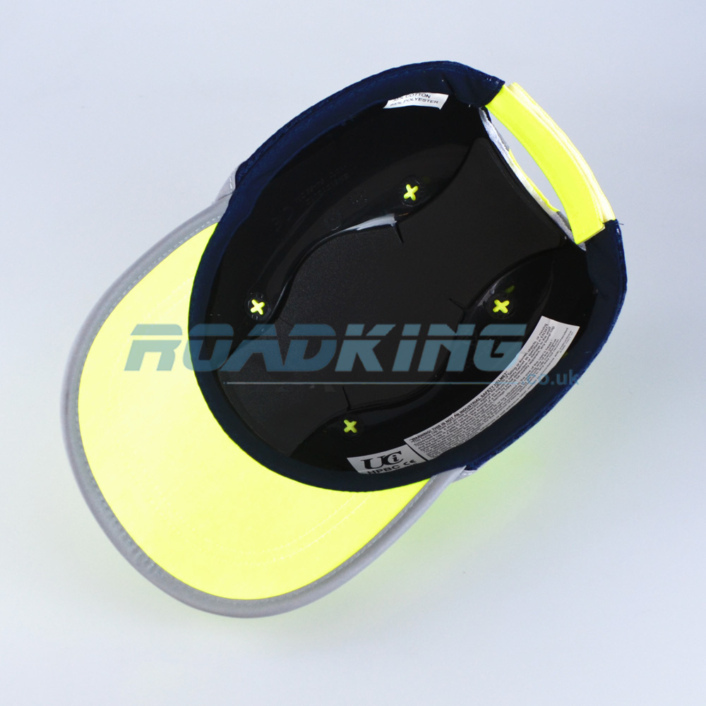 Safety Baseball Cap Hard Hat Hi Viz Bump Cap Yellow